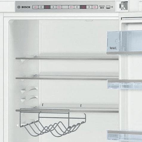 Холодильник Bosch KGE39XW20R - полка для  вина