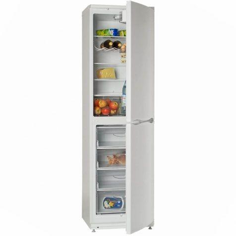 Холодильник ATLANT ХМ 6025-100 - с продуктами