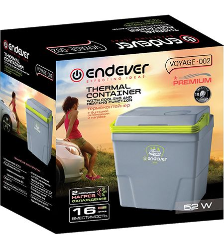 Термоэлектрический автохолодильник Endever Voyage-002