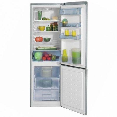 Холодильник BEKO CS328020S - ящики и полки внутри