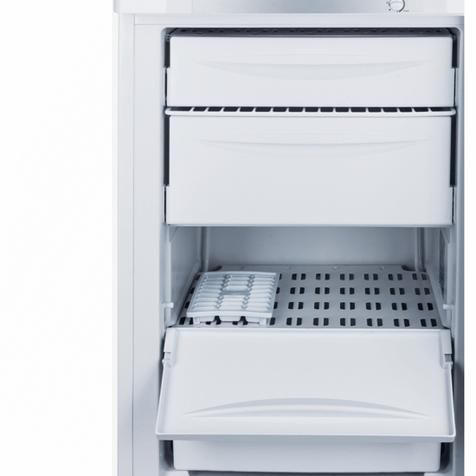 Морозильник Indesit SFR 100 - ящики внутри