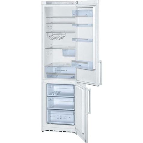 Холодильник Bosch KGV39XW20R - полки и ящики внутри