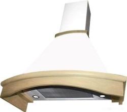 Кухонная вытяжка Elikor Ротонда 90П-1000-П3Д (бежевый/дуб неокрашенный)