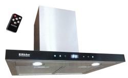 Вытяжка Backer CH90E-TGL200 Inox Black Glass